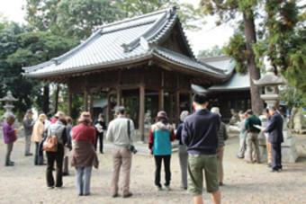 公開講座「狛犬探訪―佐野天神社と秋の東近江―」を開催