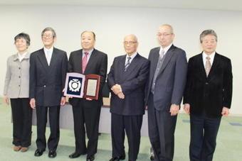 本学の永保司准教授が『学校法人奈良学園栄誉賞』を受賞しました