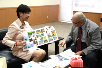 筒井通子客員教授が、第102回二科展において特選を受賞されました