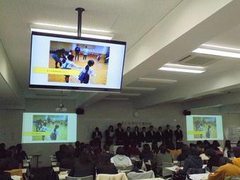 子ども学ゼミ報告会を開催しました