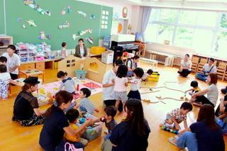 【後期】第1回2歳児保育「おひさま・ぽっかぽか組」を開催しました