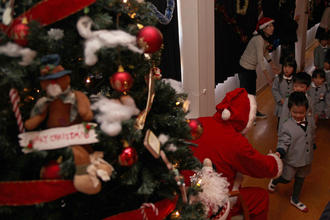 クリスマス会を開催しました