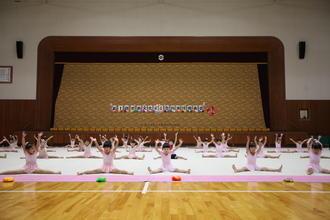 新体操クラブ「第1回奈良文化RG合同発表会」が行われました