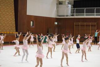 第2回奈良文化RG新体操クラブ発表会が開催されました