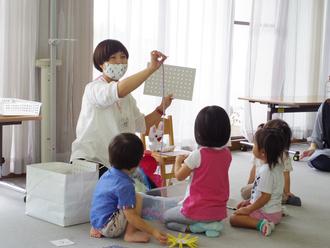 2歳児保育「おひさまぽっかぽかルーム」を開催しました